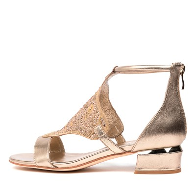 Django & Juliette Tomika Dj Champagne Champagne Sandals