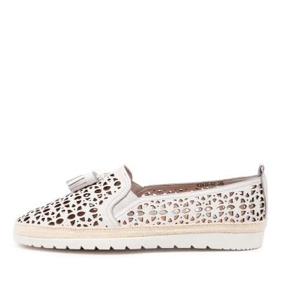 Django & Juliette Vinie Dj White Shoes