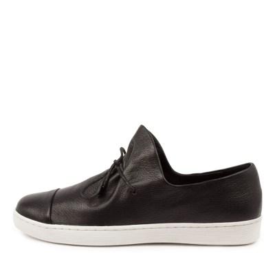 Django & Juliette Denny Dj Black White Sole Sneakers Womens Shoes Casual Casual Sneakers