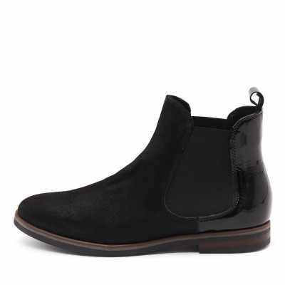 Django & Juliette 54 A 005 Nero (Black) Boots