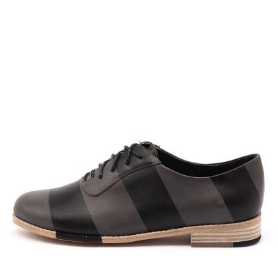 Django & Juliette Adonis Charcoal Black Shoes