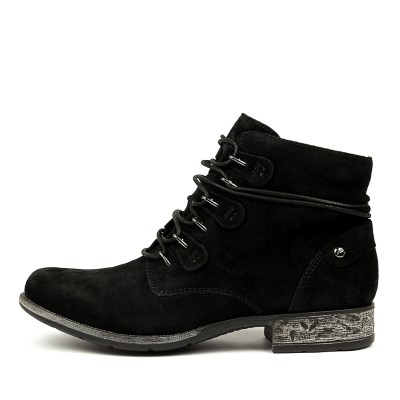 Earth Boone Ea Black Boots