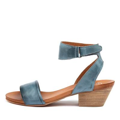 Eos Cubo W Azzuro Antique Sandals