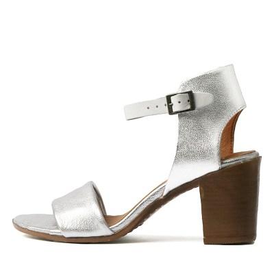 Eos Star W Silver White Sandals