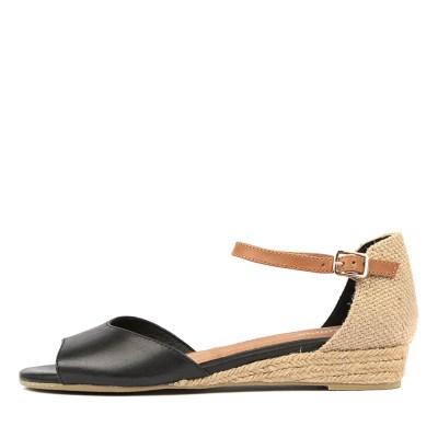 Gamins Cheryl Black Sandals