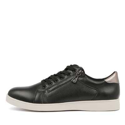 Hush Puppies Mimosa Hp Black Sneakers