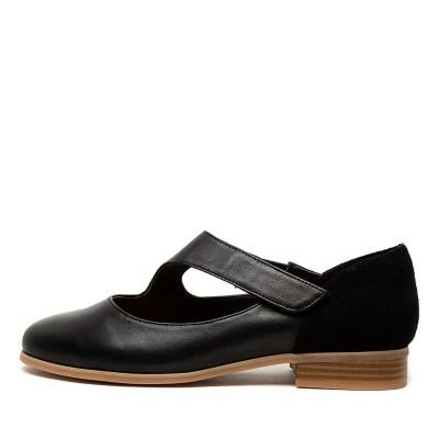 Hush Puppies Fonatine Black Shoes
