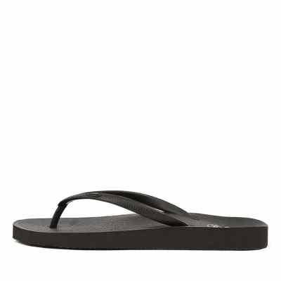 Scholl Fiji Hs Black Sandals
