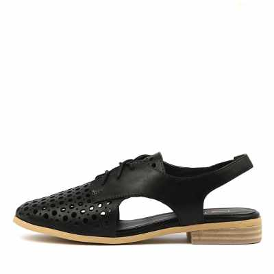 I Love Billy Quibblet Black Shoes