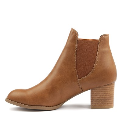 I Love Billy Jalises Tan Boots