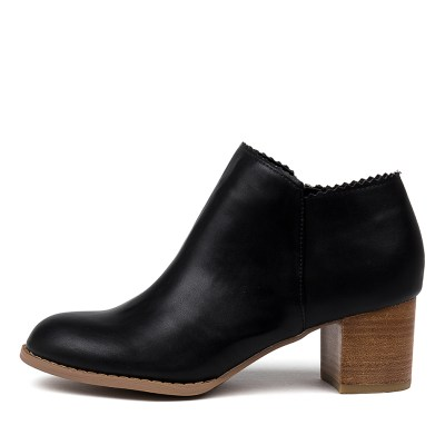 I Love Billy Jovan Black Boots Womens Shoes Casual Ankle Boots