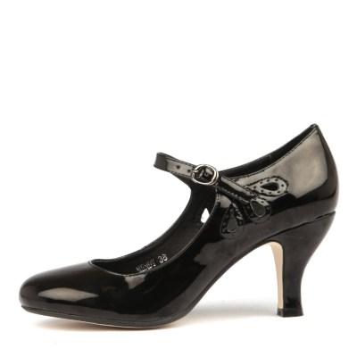 I Love Billy Mendy Black Shoes