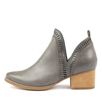 I Love Billy Lissamo Grey Boots