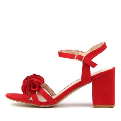 I Love Billy Uzma Red Sandals