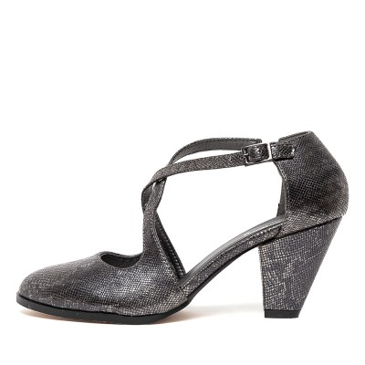 I Love Billy Carbry Pewter Snake Shoes