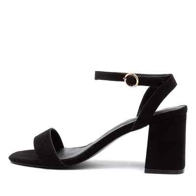I Love Billy Ezra Il Black Sandals