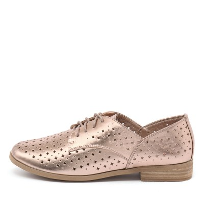 I Love Billy Quincey Rose Gold Shoes