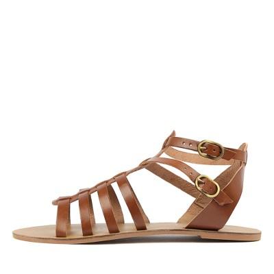 Just Because Urdu Tan Sandals