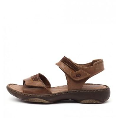Josef Seibel Debra 19 Castagne Sandals Womens Shoes Comfort Heeled Sandals