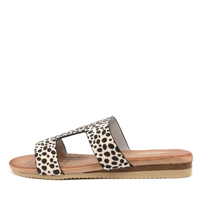 Ko Fashion Kupi W Kf Cheetah Sandals Womens Shoes Casual Sandals Flat Sandals