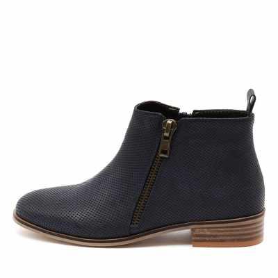 Ko Fashion Banik Indigo Boots