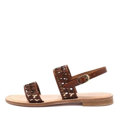 Maria Rossi Eden Tan Sandals