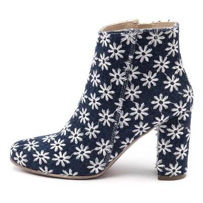Maria Rossi Capriana Blue Boots