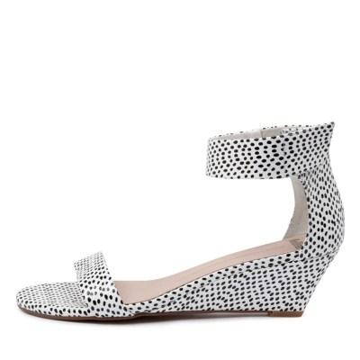 Mollini Marsy Black & White Spo Sandals