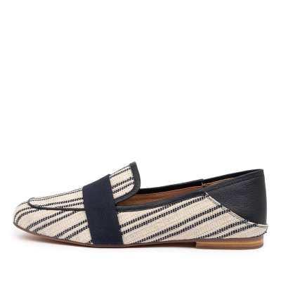 Mollini Golive Mo Navy Stripe Shoes