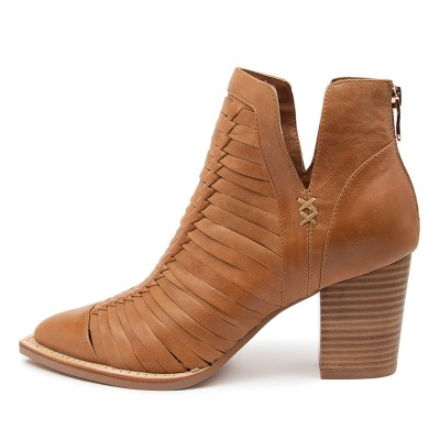 Mollini Leanah Mo Tan Boots Womens Shoes Casual Ankle Boots