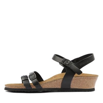 Papillio By Birkenstock Lana Pb Black Sandals Womens Shoes Casual Sandals Flat Sandals