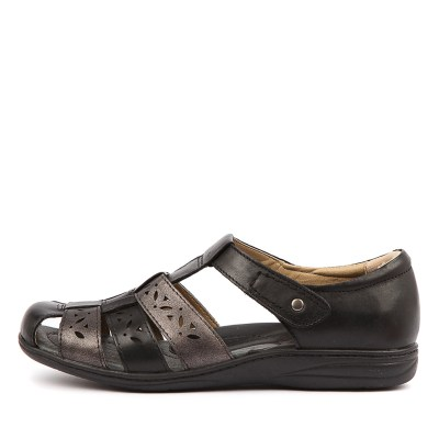 Planet Jolly Black Pewter Sandals