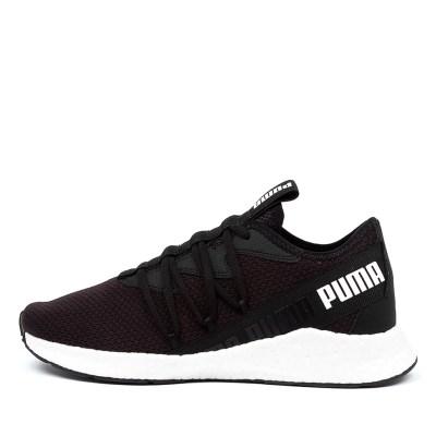 Puma Nrgy Star Pm Black White Sneakers