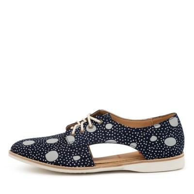 Rollie Sidecut Print Rl Navy Artistic Dots Shoes
