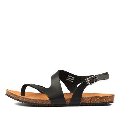 Sofia Cruz Yeva Negro Sandals