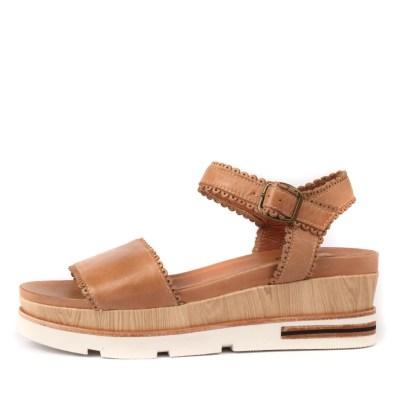 Silent D Holdo Tan Sandals