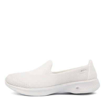 Skechers 14170 Go Walk 4 Propel White Sneakers