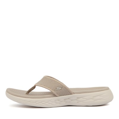 Skechers On The Go 600 Taupe Sandals