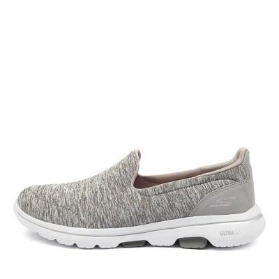 Skechers 15903 Go Walk 5 Honour Sk Grey Sneakers Womens Shoes Casual Casual Sneakers