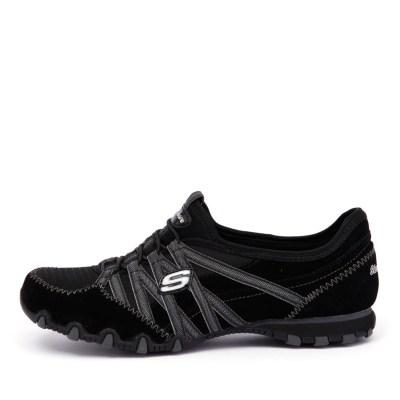Skechers 21139 Bikers Verified Black Charcoal Sneakers