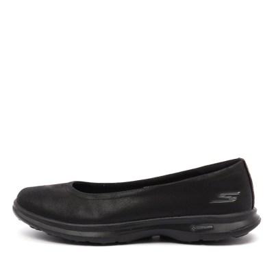 Skechers 14208 Go Step Distinguished Black Black Sneakers