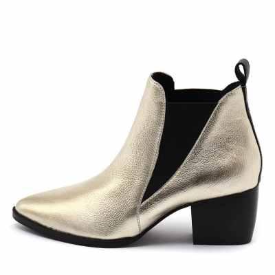 Sol Sana Bruno Gold Boots