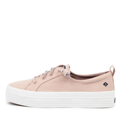 Sperry Crest Vibe Platform Canvas Rose Dust Sneakers