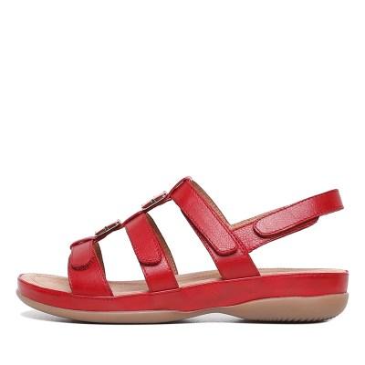 Supersoft Sitara Red E Sandals