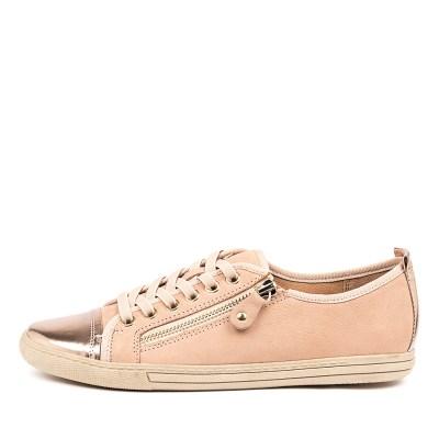 Supersoft Alfie Su Blush Rose Gold Sneakers