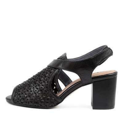 Supersoft Nimble Su Black E Sandals