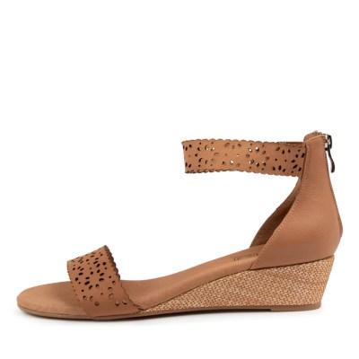 Supersoft Kylee Su Tan Sandals Womens Shoes Dress Heeled Sandals