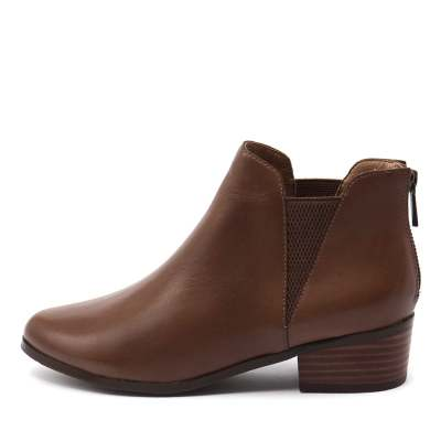 Supersoft Everly Dark Tan Boots