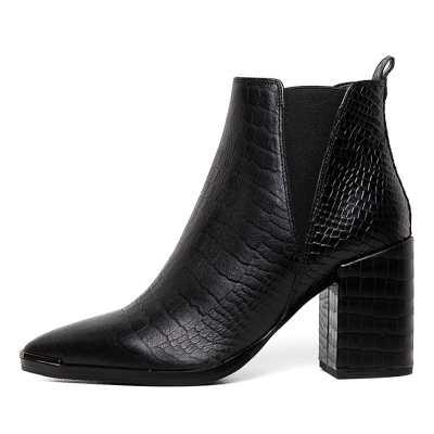 Tony Bianco Bello Tb Black Alligator Boots