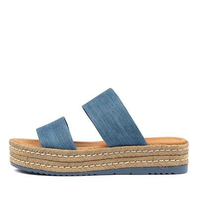 Top End Alline Blue Sandals